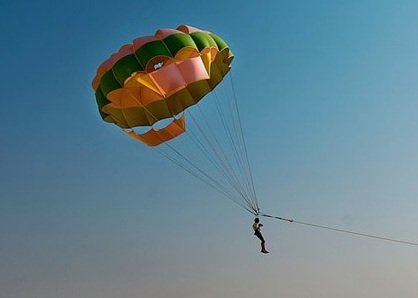 Paragliding-Parasailing